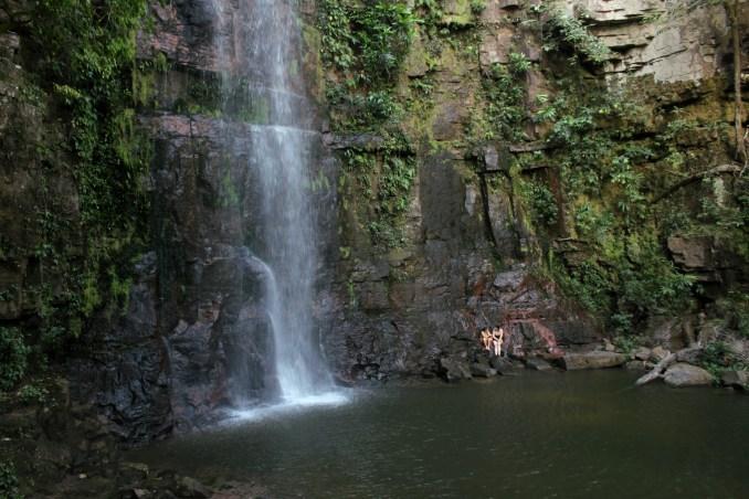Cachoeira da Serra do Roncador (foto: Eduardo Vessoni)