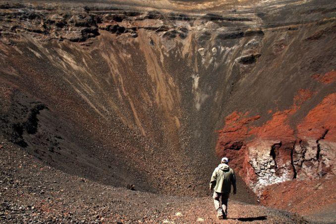 Cráter Navidad, na Reserva Nacional Malalcahuello (foto: Eduardo Vessoni)