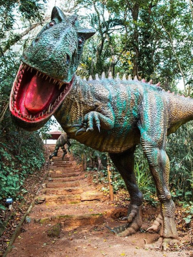 Parque Dinossauros do Brasil, em Votorantim (SP)