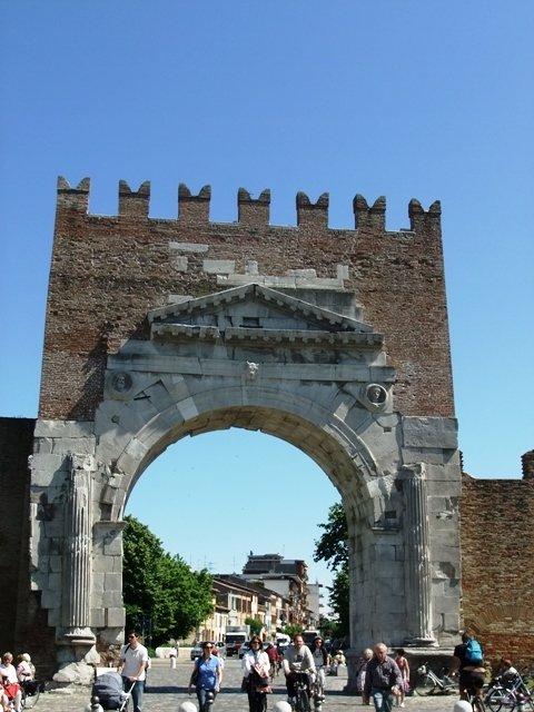 Arco de Augusto, Rimini, região Emília-Romanha
