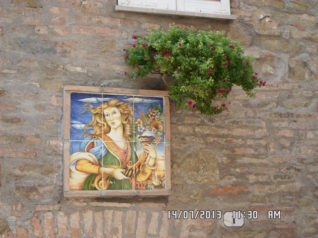 Deruta, um dos burgos mais bonitos da Itália