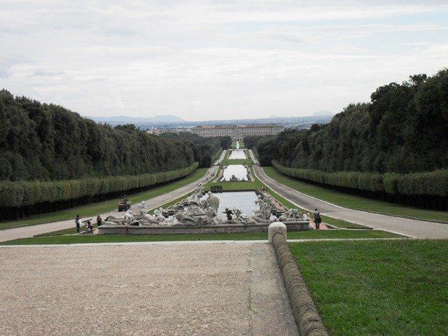 Monumentos italianos mais visitados. Palácio Real de Caserta (Reggia di Caserta), Itália