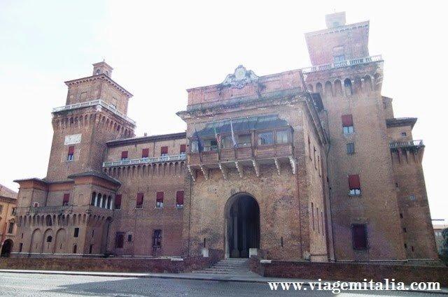 O que ver em Ferrara, na Itália: Castelo de Ferrara