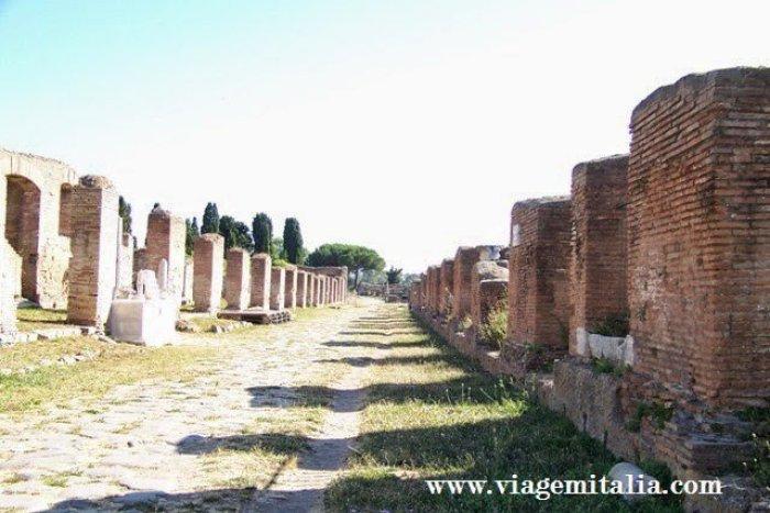 Ostia Antiga em Roma