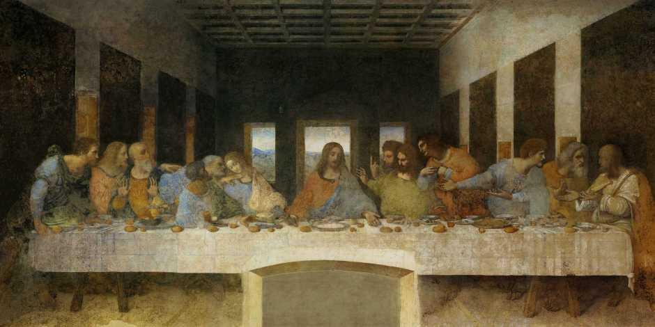 Última Ceia de Leonardo da Vinci (Cenáculo)