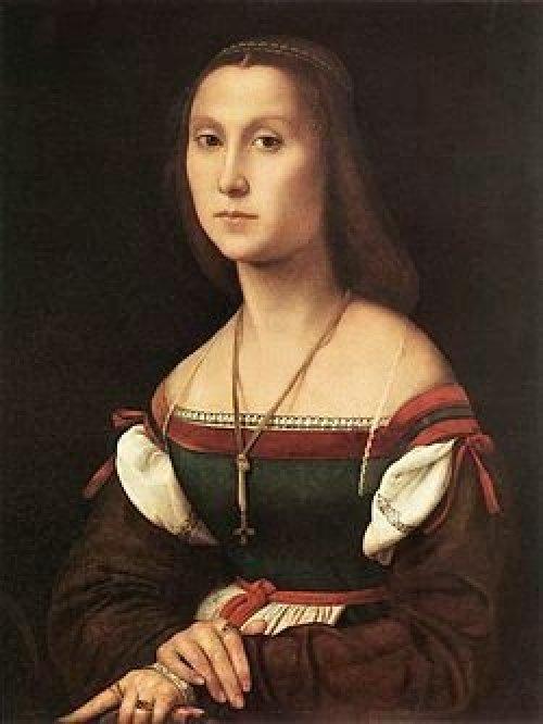 La Muta de Rafael Sanzio, artista italiano