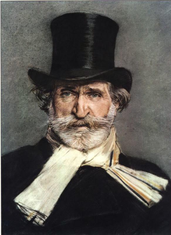 Óperas de Giuseppe Verdi. Retrato de Boldini