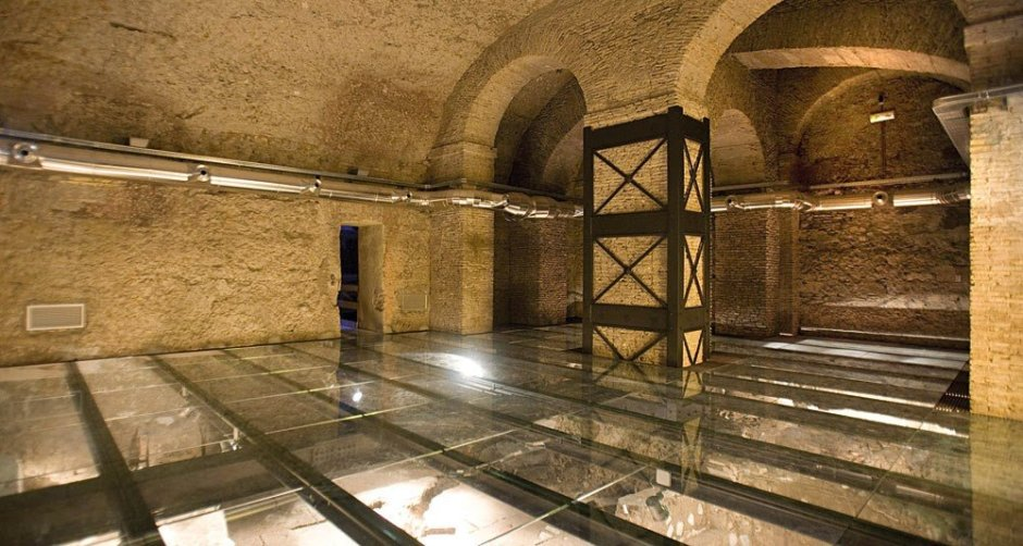 ️ Domus Romanas do Palácio Valentini em Roma