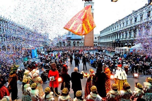 🎉 Carnaval de Veneza 2019: 17 de fevereiro a 05 de março 🎭