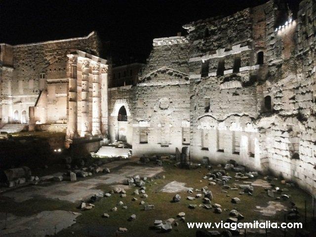 Foro de Augusto - Viagem na Roma Antiga