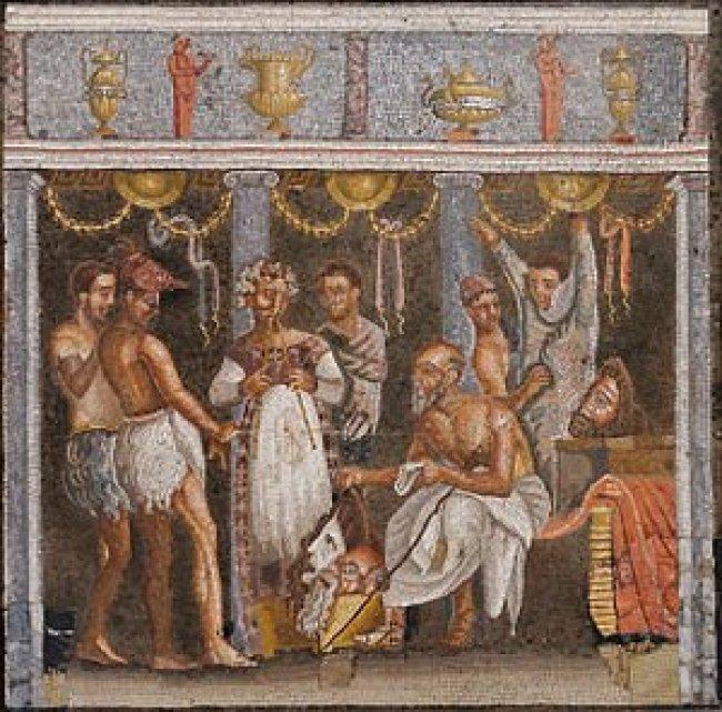 História do teatro na Roma Antiga -