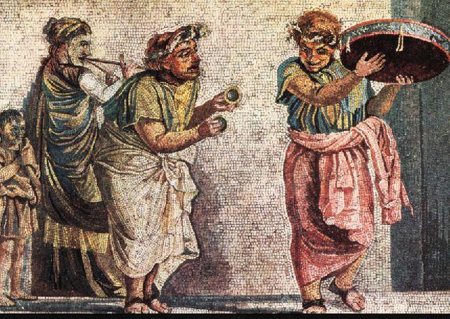 Música e dança na Roma Antiga