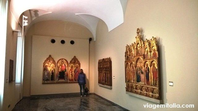 Museus em Bolonha: Pinacoteca Nacional