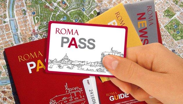 Cartões turísicos em Roma e no Vaticano