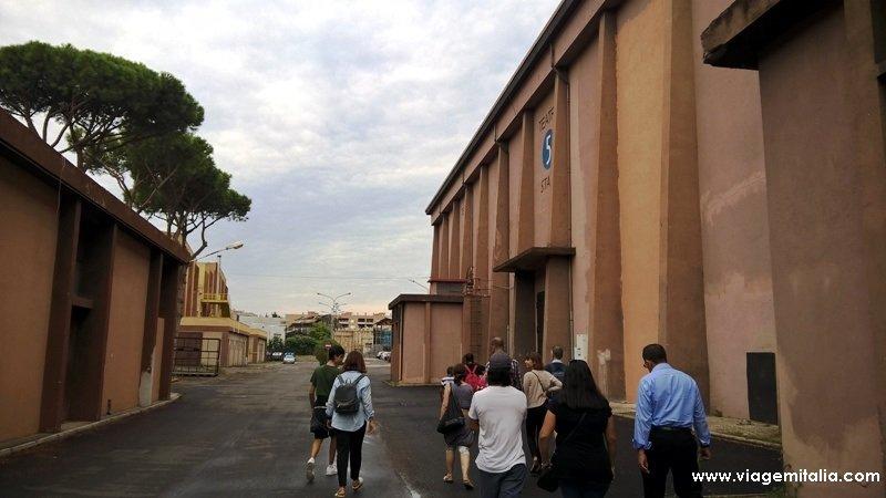 Visitar os estúdios de Cinecittà em Roma, Itália