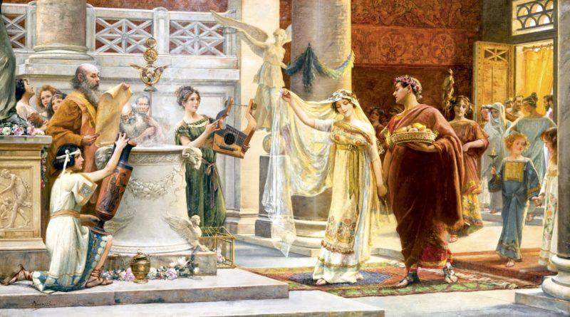 Como era o casamento no Império Romano?
