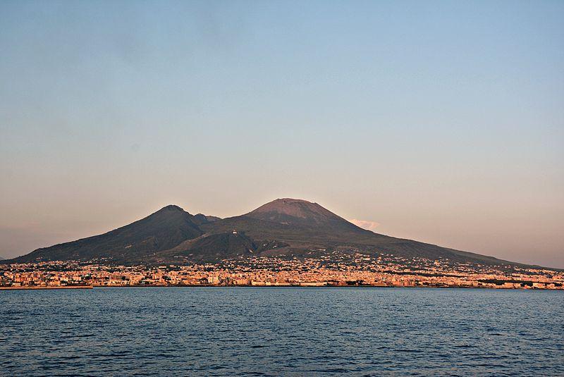 Vulcões na Itália - Vesúvio