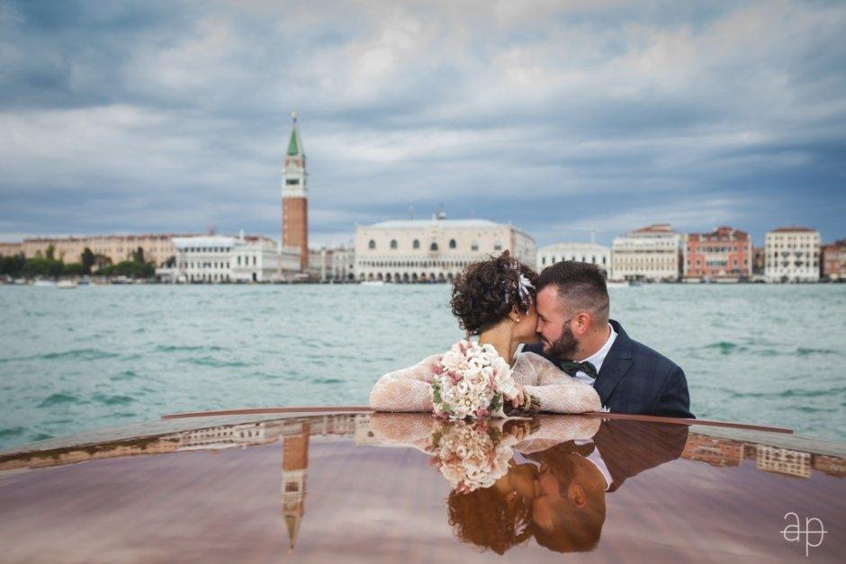 Sessão de fotos em Veneza