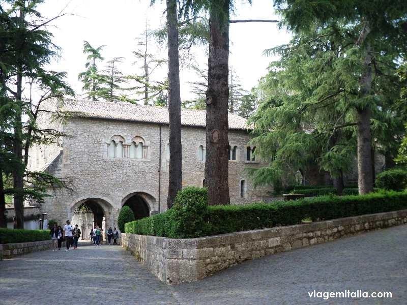 Abadia de Casamari, Veroli, Lácio, Itália
