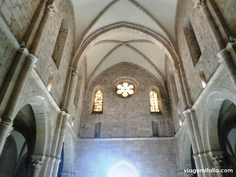 Abadia de Casamari, Veroli, Frosinone, Itália