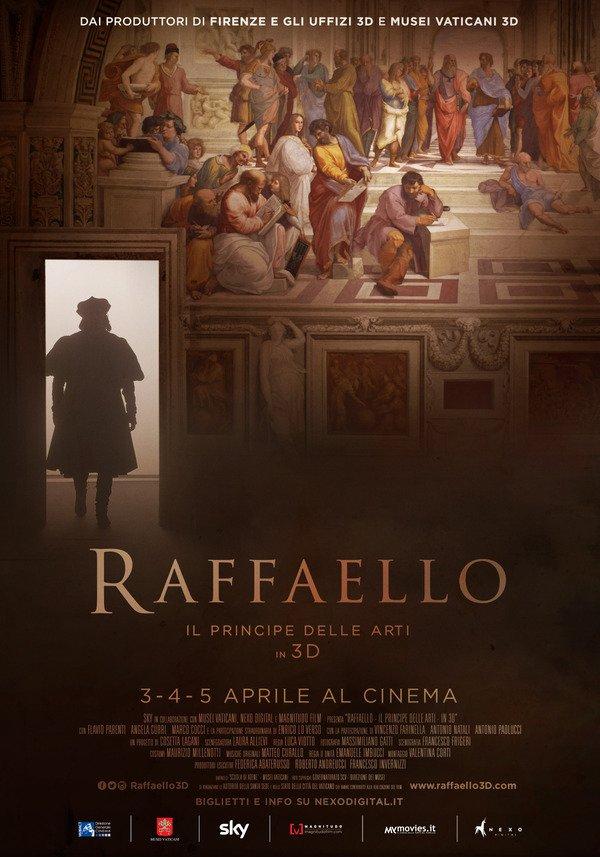 Filme Rafael - o principe das artes em 3D