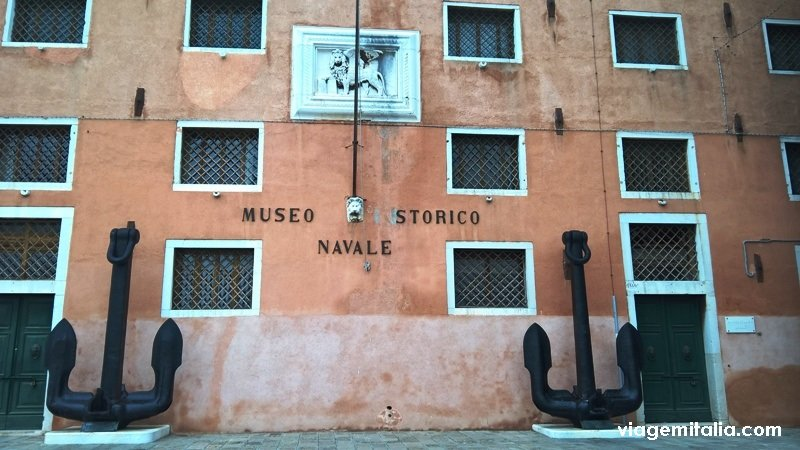 ⚓ Pavilhão dos Navios do Museu Histórico Naval de Veneza: a época de ouro da Sereníssima