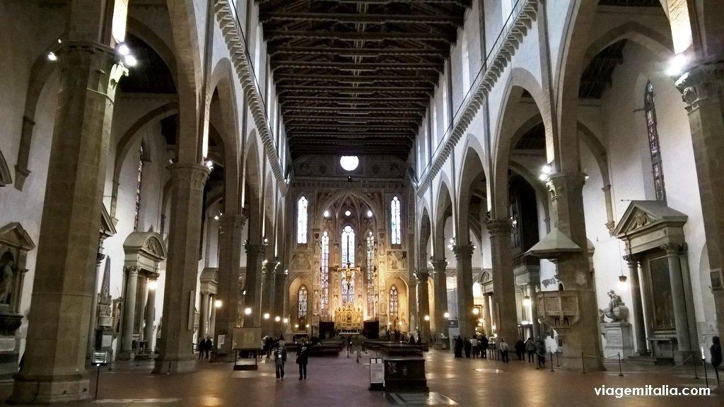 Basílica de Santa Cruz, Florença, Itália