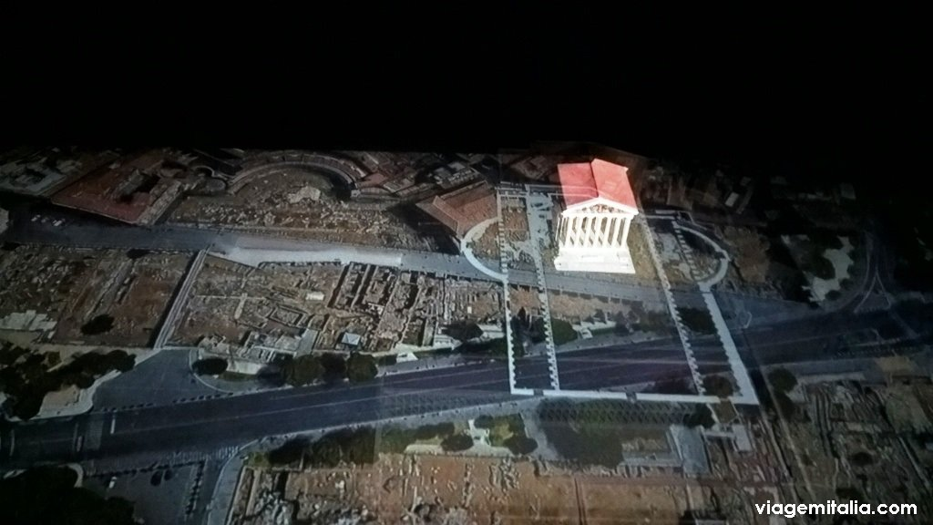 Espaço multimídia no centro de Roma: Welcome to Rome