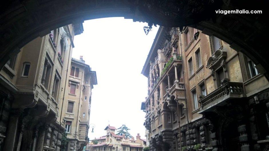 Gino Coppedè, arquiteto do quarteirão homônimo, Roma