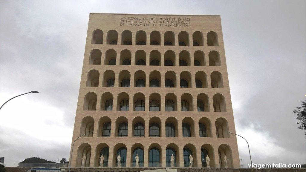 Coliseu Quadraro no EUR, Roma
