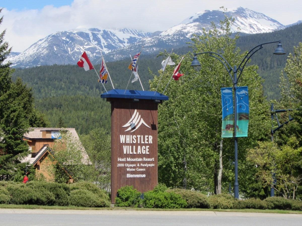 Whistler, a famosa estação de esqui no Canadá!
