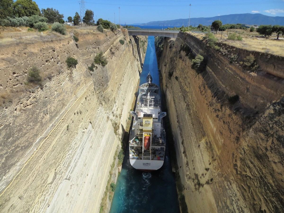 Corinto e seu Canal + Micenas