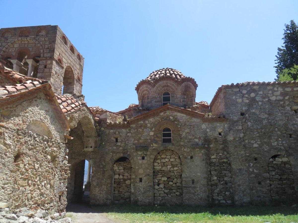 O Sítio Arqueológico de Mystras + Esparta