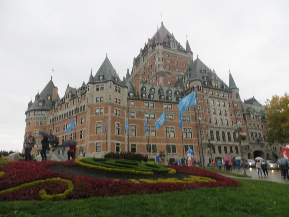 Quebec + Chutes de Montmorecy + Sanctuaire de St. Anne de Beaupré