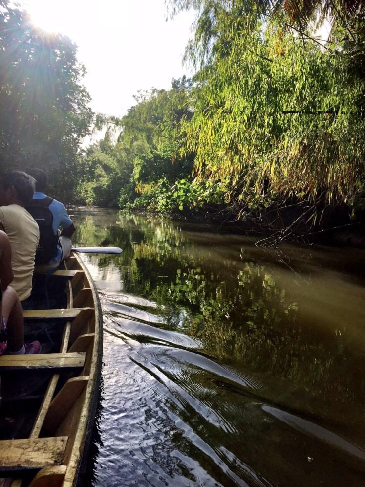 Passeio de canoa na Fazenda São Jerônimo