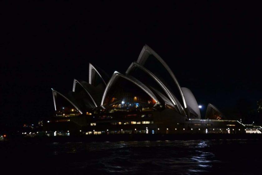 Opera House by Night