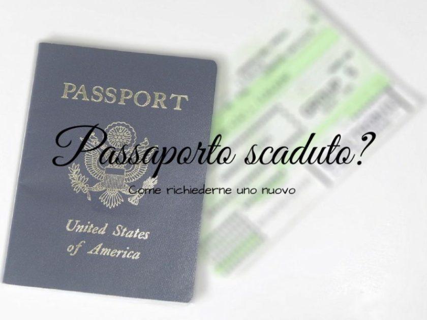 Passaporto scaduto