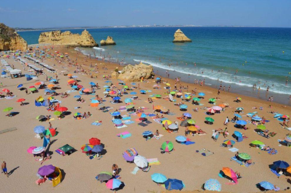Spiaggia in Algarve Portogallo