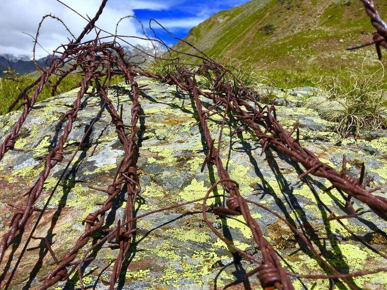 Resti della Prima Guerra Mondiale in Valtellina