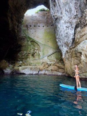 Nella Grotta del Turco