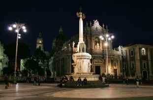 "Il simbolo di Catania ""u liotru"""