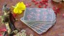 """Carte Divinatorie allegate al libro """"Viaggiando nel Canto degli Alberi. Musiche e Carte Divinatorie degli Alberi Sacri dell'India del nord e del Nepal"""""""