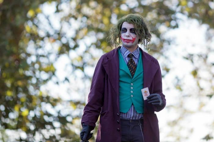 Joker cosplay al Lucca Comics & Games 2014
