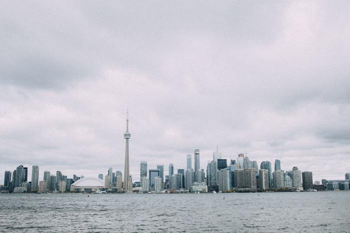 Toronto, una città che splende d'autunno.