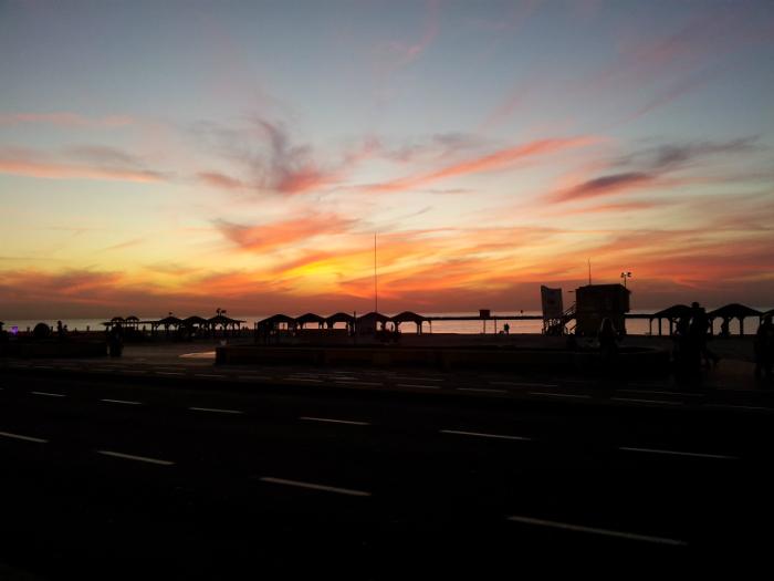 Tramonto Tel Aviv