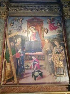 Pinturicchio, Madonna col Bambino, Spello