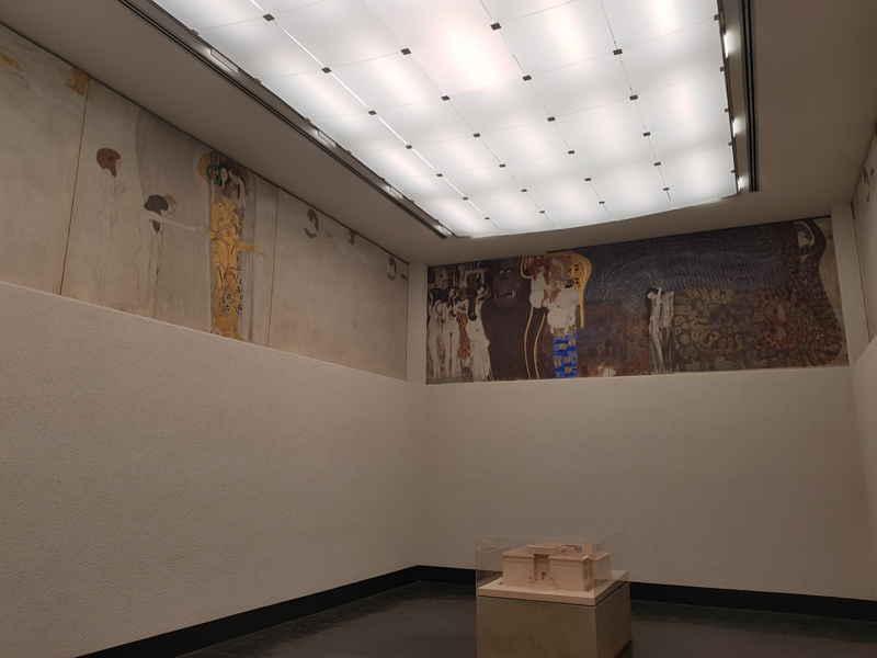 Gustav Klimt, Fregio di Beethoven
