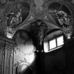 Angolo del soffitto di Palazzo Lercari.