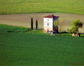 Campagna circostante la Rocca di Solferino.