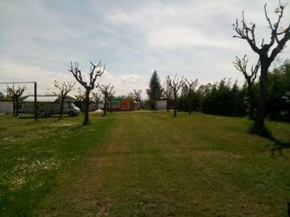 Piazzole del campeggio La Cascina, Mondovì.